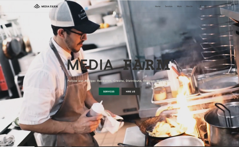 Media Farm Agency Website